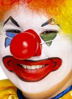 Nez de Clown rouge qui grince Accessoires de clown