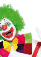 Bow Tie couleurs assorties Accessoires de clown
