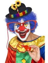 Grosses lunettes de Clown Squirting Accessoires de clown