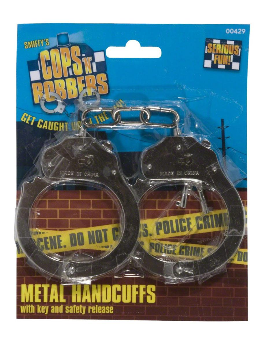 Accessoires génériques Menottes métal avec clé