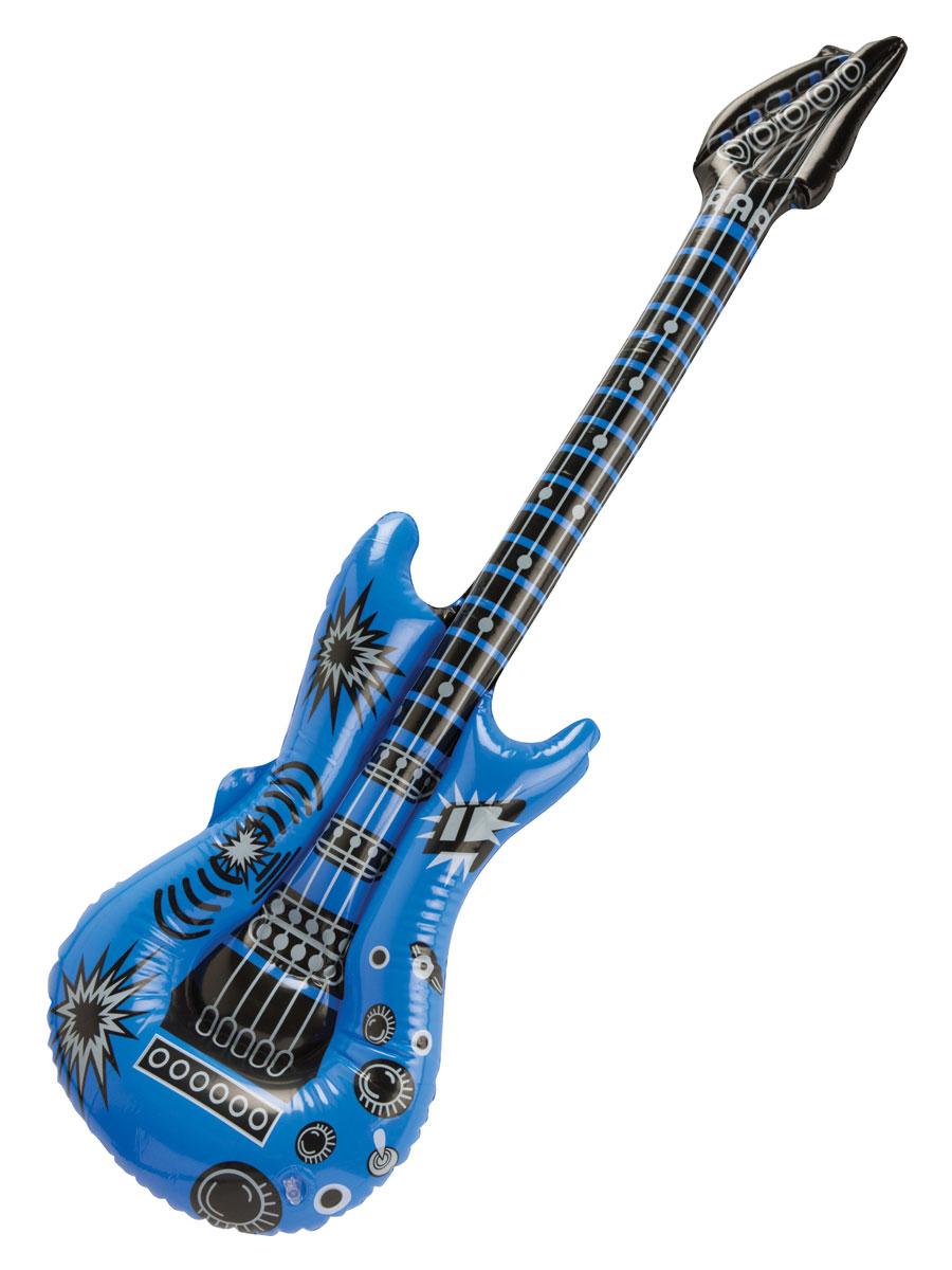 Accessoires génériques Guitare grandeur nature gonflable assortie
