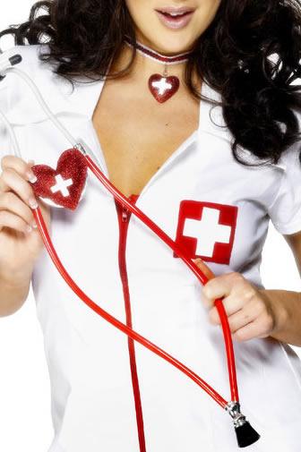 Accessoires génériques Heart Shaped infirmières stéthoscope