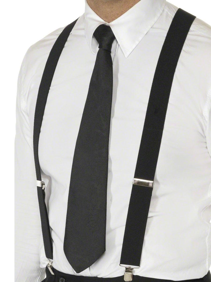 Accessoires génériques Bretelles élastiques noir