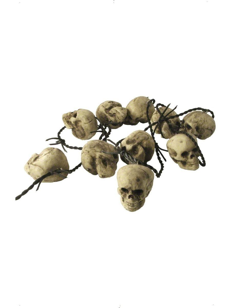 Accessoires génériques Rusty Barb Wire avec 10 crânes