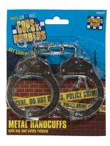 Menottes métal avec clé Accessoires génériques