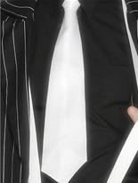 Gangster cravate blanche Accessoires génériques