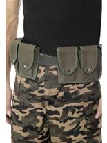 Armée ceinture avec pochettes Accessoires génériques