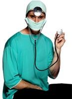 Chirurgiens Set bleus Accessoires génériques