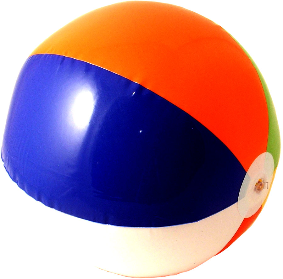 Accessoires hawaïennes Beachball gonflable