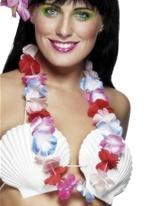 Guirlande hawaïenne multicolore Accessoires hawaïennes