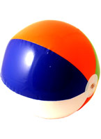 Beachball gonflable Accessoires hawaïennes