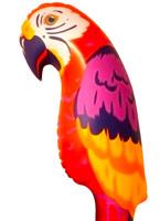 Perroquet gonflable Accessoires hawaïennes