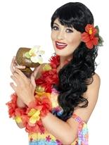 Tasse de noix de coco Accessoires hawaïennes