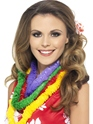 Accessoires hawaïennes Hawaiian Lei Party 4 couleurs assorties