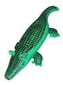 Accessoires hawaïennes Crocodile gonflable