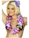 Accessoires hawaïennes Hawaiian Lei violet et rose