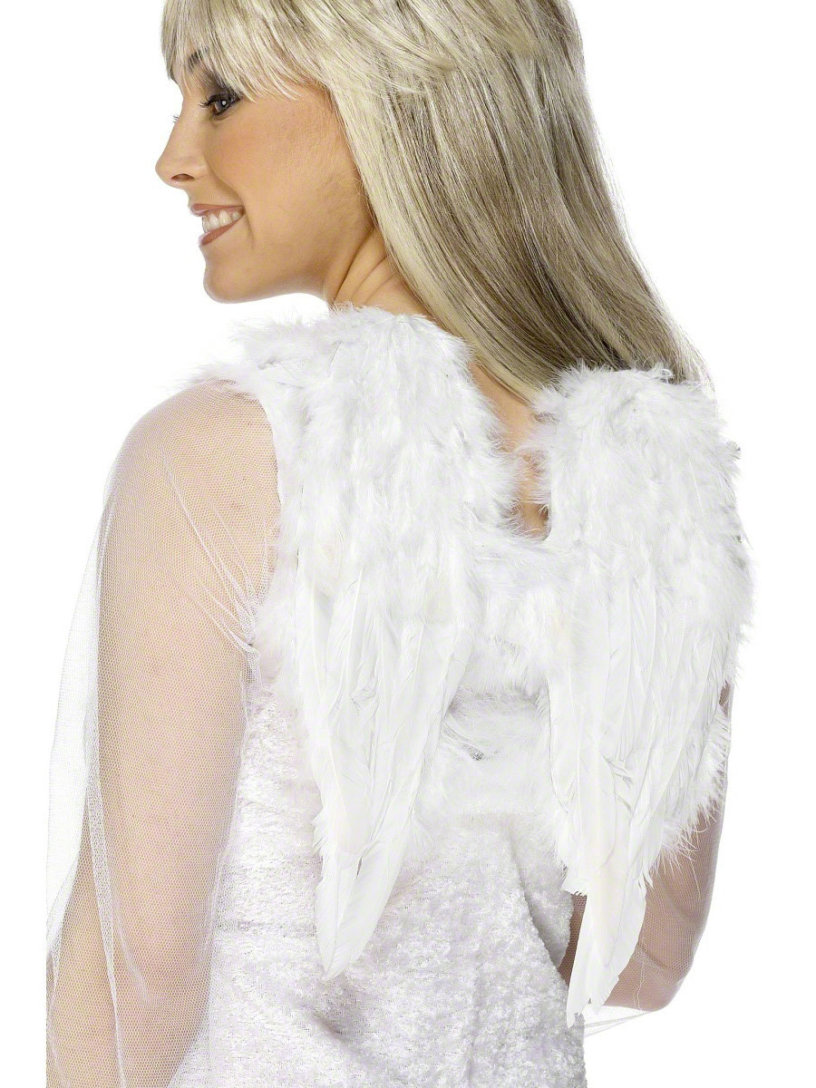 Ailes & Halos Ailes d'ange plume blanche