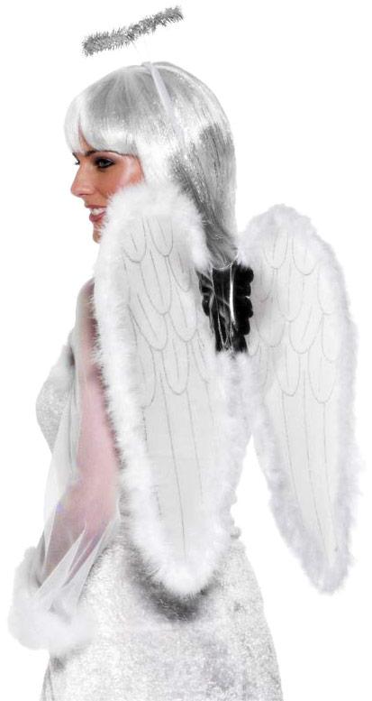 Ailes & Halos Anges Set blanc