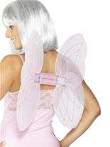 Net Angel Wings Silver Rose Ailes & Halos