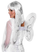 Net ange ailes blanc argent Ailes & Halos