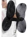 Ailes & Halos Net ange ailes noir argent