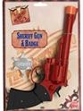 Armes à feu Pistolet grand shérifs et Badge plastique
