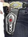 Armes à feu Holster Cowboy unique avec ceinture