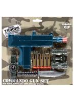 Jeu de pistolet Commando Armes à feu
