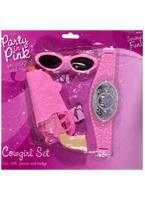 Childrens Cowgirl Set Pink Armes à feu