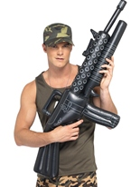 Mitrailleuse gonflable Armes à feu