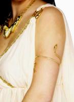Or Bracelet égyptien serpent Bijoux fantaisie