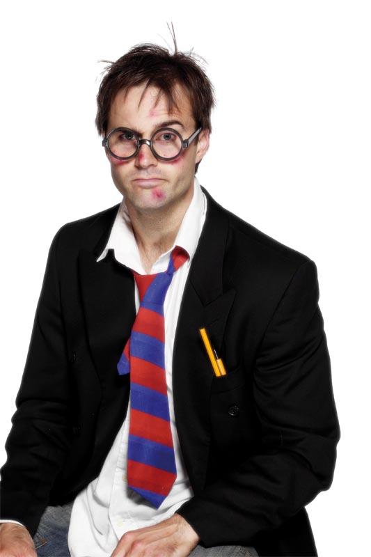 Boas & foulards École cravate élastique rouge et bleu