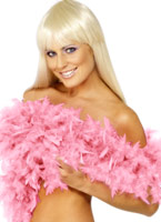 Boa luxe Pink Feather Boas & foulards