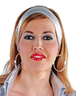 Foulard effet Satin argent Boas & foulards