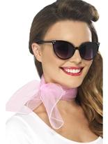 50 ' s Style mousseline de soie Col écharpe Boas & foulards
