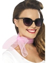 Boas & foulards 50 ' s Style mousseline de soie Col écharpe