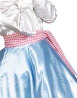 Écharpe rose et blanc Check Boas & foulards