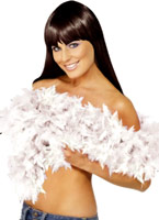 Boa super luxe White Feather Boas & foulards