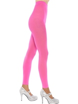 Collants sans pieds Neon Pink Bonnet
