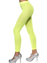 Collants sans pieds Neon Green Bonnet