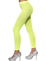 Collants sans pieds Neon Green Bonnet
