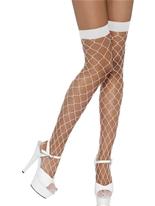 Diamant Net blanc cuissardes Bonnet