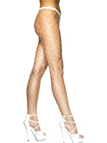 Diamant Net collants blanc Bonnet