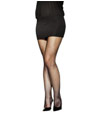 Bonnet Collants résille noir taille positive