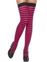 Bonnet Cuissardes à rayures rose et noir