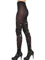 Bonnet Collants noirs avec des étoiles