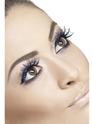 Cils Spiderweb bleu Glitter cils