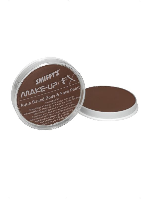 Déguisement Maquillage Visage et corps peinture brun clair