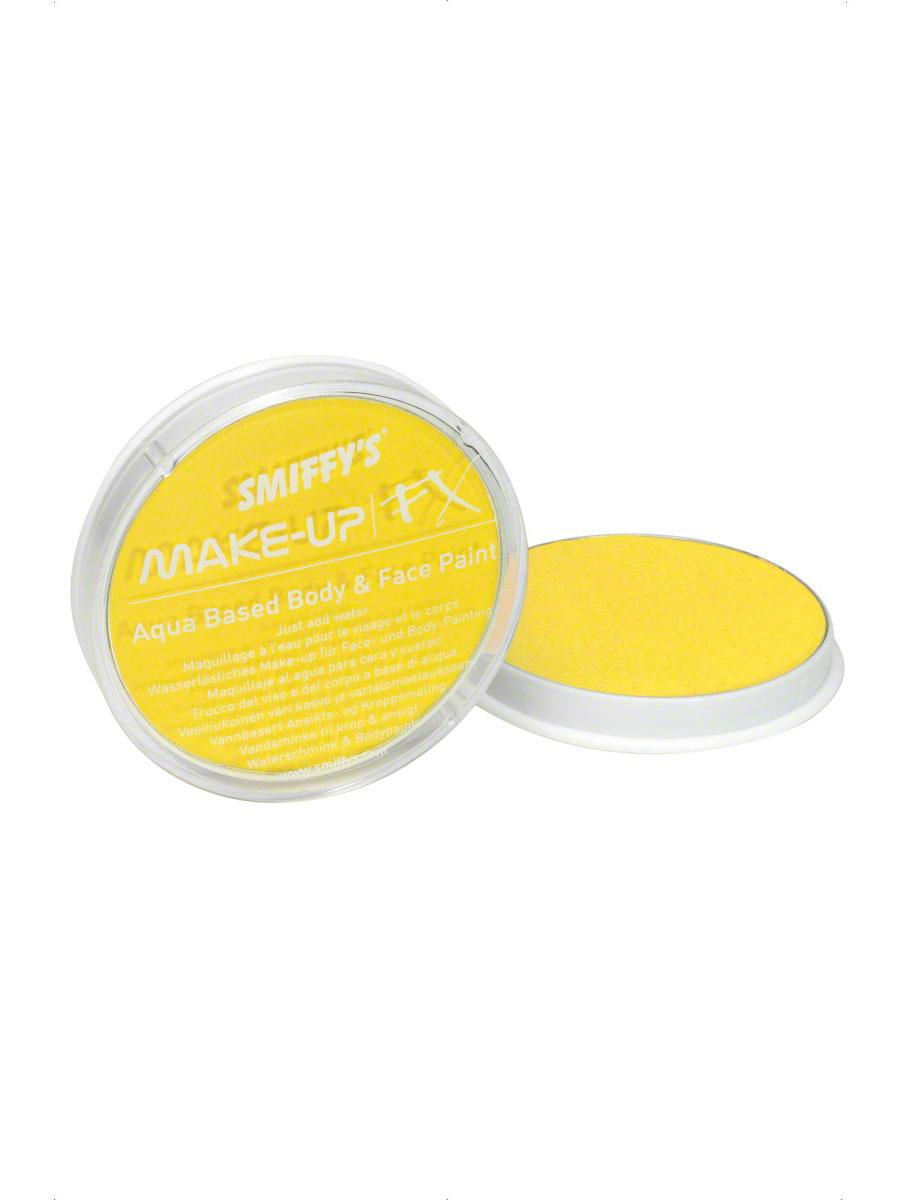 Déguisement Maquillage Face jaune et peinture pour le corps