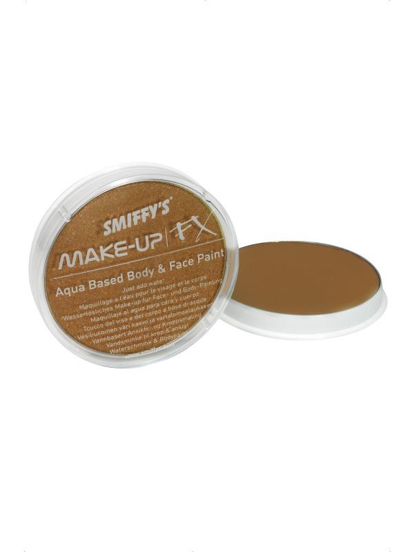 Déguisement Maquillage Visage et corps peinture Metallic Bronze